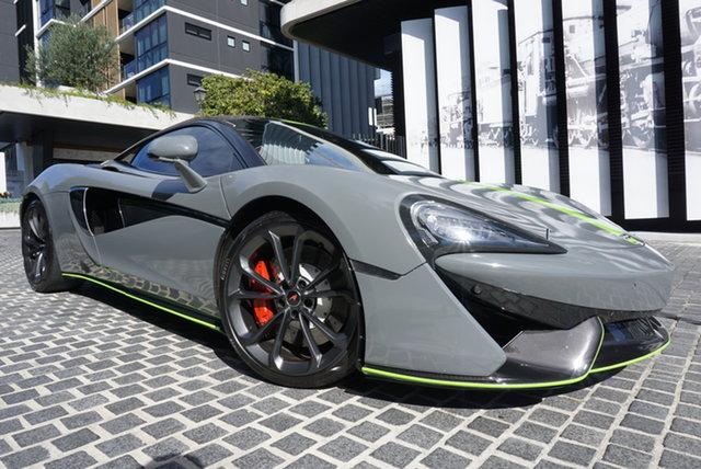 Used McLaren 540C P13 East Brisbane, 2016 McLaren 540C P13 Daytona Grey 7 Speed Sports Automatic Dual Clutch Coupe