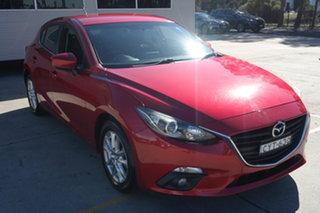 2015 Mazda 3 BM5478 Maxx SKYACTIV-Drive Soul Red 6 Speed Sports Automatic Hatchback.