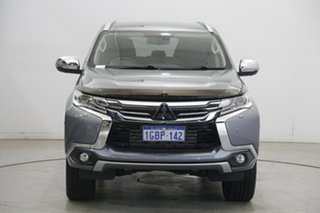 2016 Mitsubishi Pajero Sport QE MY16 Exceed Silver 8 Speed Sports Automatic Wagon.
