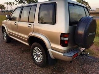 2002 Holden Jackaroo U8 MY02 Nullabor Gold 4 Speed Automatic Wagon