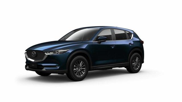 New Mazda CX-5 KF4WLA Touring SKYACTIV-Drive i-ACTIV AWD Toowoomba, 2021 Mazda CX-5 KF4WLA Touring SKYACTIV-Drive i-ACTIV AWD Deep Crystal Blue 6 Speed Sports Automatic