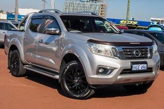 2016 Nissan Navara D23 ST-X Silver 7 Speed Sports Automatic Utility.