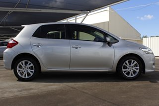2010 Toyota Corolla ZRE152R MY10 Ascent Sport Silver 6 Speed Manual Hatchback.