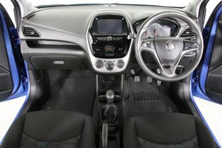 2016 Holden Barina Spark MJ MY15 CD Blue 5 Speed Manual Hatchback
