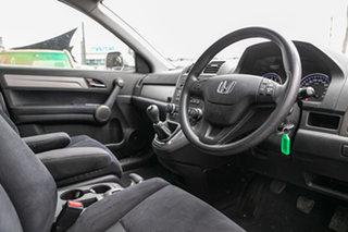 2012 Honda CR-V RE MY2011 4WD Alabaster Silver 6 Speed Manual Wagon.