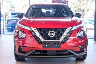 2021 Nissan Juke F16 ST-L DCT 2WD Fuji Sunset Red 7 Speed Sports Automatic Dual Clutch Hatchback.