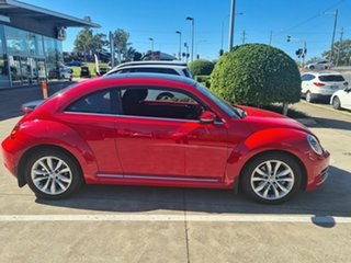 2013 Volkswagen Beetle 1L MY13 Coupe DSG Red 7 Speed Sports Automatic Dual Clutch Liftback.