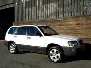2005 Subaru Forester 79V MY05 X AWD White 4 Speed Automatic Wagon.