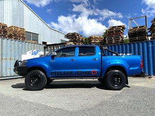 2013 Toyota Hilux KUN26R MY14 SR5 Double Cab Blue 5 Speed Automatic Utility