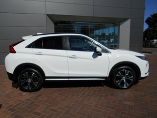 2018 Mitsubishi Eclipse Cross YA MY18 Exceed AWD White 8 Speed Constant Variable Wagon.