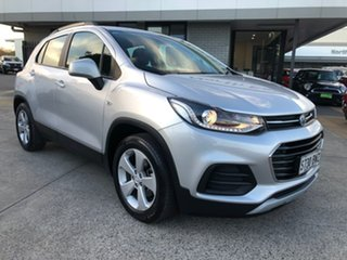 2018 Holden Trax TJ MY18 LS Silver 6 Speed Automatic Wagon.