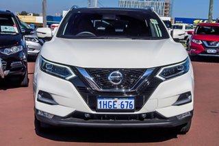 2021 Nissan Qashqai J11 Series 3 MY20 Ti X-tronic Ivory Pearl 1 Speed Constant Variable Wagon.