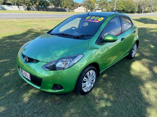2010 Mazda 2 DE10Y1 MY10 Neo Green 4 Speed Automatic Hatchback.