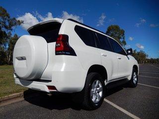 2018 Toyota Landcruiser Prado GDJ150R MY17 GXL (4x4) Crystal Pearl 6 Speed Automatic Wagon.