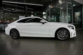 2020 Mercedes-Benz C-Class C205 800+050MY C200 9G-Tronic White 9 Speed Sports Automatic Coupe