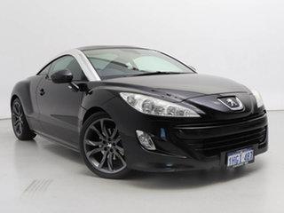 2011 Peugeot RCZ 1.6T Black 6 Speed Tiptronic Coupe.
