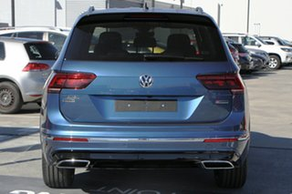 2021 Volkswagen Tiguan 5N MY21 162TSI Highline DSG 4MOTION Allspace Blue Silk Metallic 7 Speed.