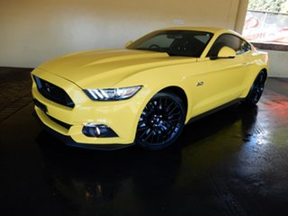 2015 Ford Mustang FM Fastback GT 5.0 V8 Yellow 6 Speed Automatic Coupe