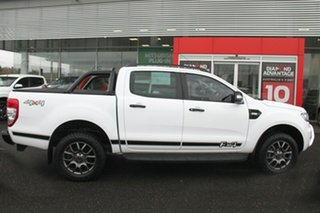 2017 Ford Ranger PX MkII 2018.00MY FX4 Double Cab White 6 Speed Sports Automatic Utility