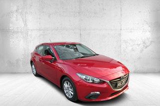 2014 Mazda 3 BM5478 Maxx SKYACTIV-Drive Soul Red 6 Speed Sports Automatic Hatchback.