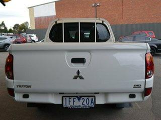 2015 Mitsubishi Triton MN MY15 GLX Double Cab 4x2 White 4 Speed Sports Automatic Utility