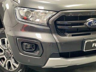 2018 Ford Ranger PX MkIII 2019.00MY Wildtrak Grey 6 Speed Sports Automatic Utility.