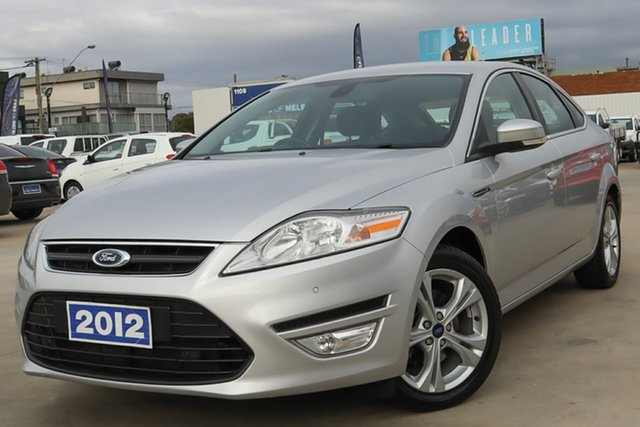 Used Ford Mondeo MC Zetec PwrShift EcoBoost Coburg North, 2012 Ford Mondeo MC Zetec PwrShift EcoBoost Silver 6 Speed Sports Automatic Dual Clutch Hatchback