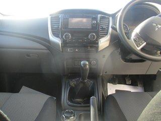 2017 Mitsubishi Triton MQ MY17 GLX Plus (4x4) Silver 6 Speed Manual Dual Cab Utility