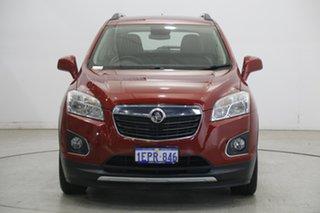 2014 Holden Trax TJ MY15 LTZ Red 6 Speed Automatic Wagon.