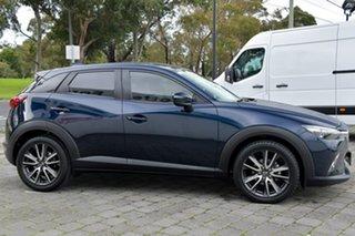 2016 Mazda CX-3 DK2W7A sTouring SKYACTIV-Drive Blue 6 Speed Sports Automatic Wagon.