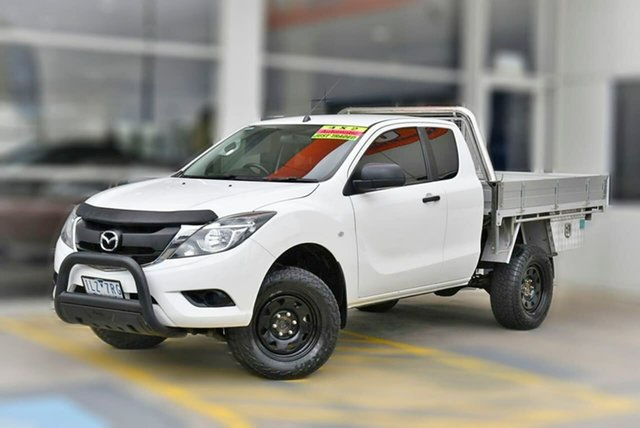 Used Mazda BT-50 UR0YG1 XT Freestyle 4x2 Hi-Rider Berwick, 2017 Mazda BT-50 UR0YG1 XT Freestyle 4x2 Hi-Rider White 6 Speed Sports Automatic Cab Chassis