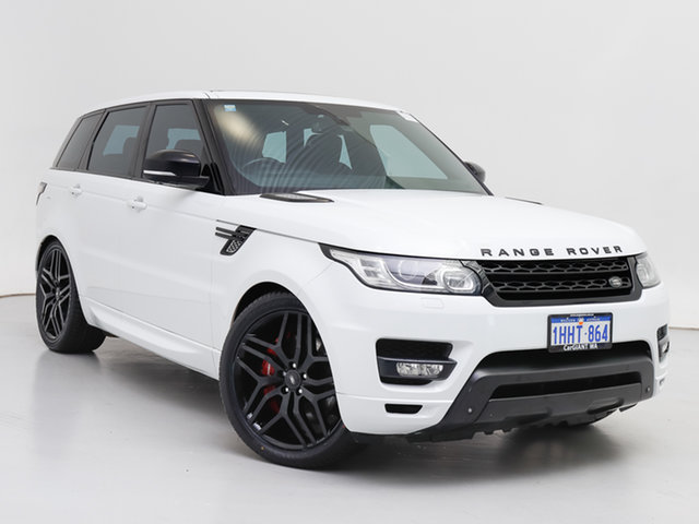 Used Land Rover Range Rover LW Sport SDV8 HSE Dynamic, 2014 Land Rover Range Rover LW Sport SDV8 HSE Dynamic White 8 Speed Automatic Wagon