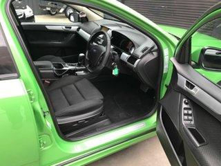 2009 Ford Falcon FG XR6 Green 5 Speed Auto Seq Sportshift Sedan