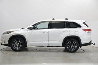 2018 Toyota Kluger GSU55R GX AWD White 8 Speed Sports Automatic Wagon.