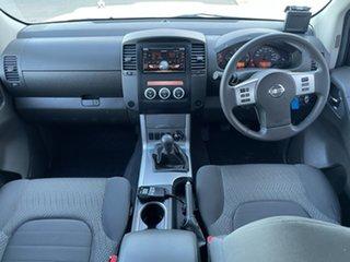 2012 Nissan Navara D40 S6 MY12 ST White 6 Speed Manual Utility.