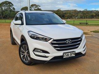 2017 Hyundai Tucson TL MY17 Active X 2WD White 6 Speed Sports Automatic Wagon.
