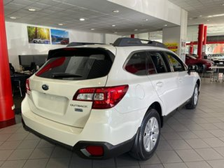 2016 Subaru Outback B6A MY17 2.0D CVT AWD White 7 Speed Constant Variable Wagon