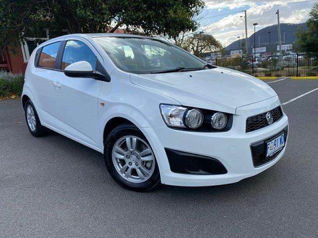 Used Holden Barina TM MY13 CD Glenorchy, 2012 Holden Barina TM MY13 CD White 6 Speed Automatic Hatchback