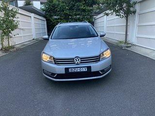 2011 Volkswagen Passat Type 3C MY12 118TSI DSG Silver 7 Speed Auto Sportshift Wagon.