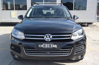 2011 Volkswagen Touareg 7P MY11 V6 TDI Tiptronic 4MOTION Black 8 Speed Sports Automatic Wagon.