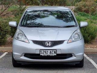 2009 Honda Jazz GE MY09 GLi Silver 5 Speed Automatic Hatchback.