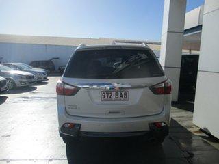 2015 Isuzu MU-X UC MY15 LS-T (4x4) White 5 Speed Automatic Wagon.
