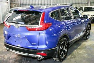 2017 Honda CR-V RW MY18 VTi FWD Blue 1 Speed Constant Variable Wagon