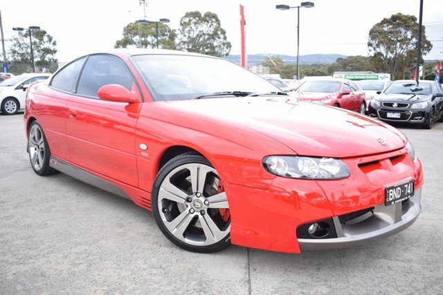 Used Holden Special Vehicles Coupe V2 Series 2 GTS Ferntree Gully, 2003 Holden Special Vehicles Coupe V2 Series 2 GTS Red 4 Speed Automatic Coupe