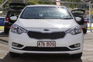 2015 Kia Cerato YD MY15 S Clear White 6 Speed Sports Automatic Hatchback