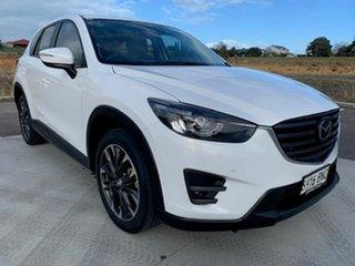2016 Mazda CX-5 KE1022 Akera SKYACTIV-Drive AWD White 6 Speed Sports Automatic Wagon.