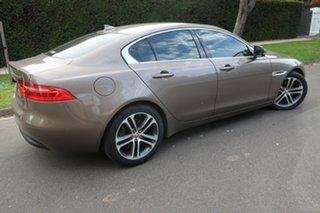 2016 Jaguar XE X760 MY16 20t Prestige Brown 8 Speed Sports Automatic Sedan.