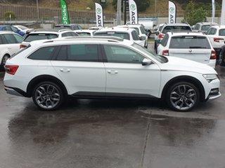 2020 Skoda Superb NP MY20.5 200TSI DSG Scout White 7 Speed Sports Automatic Dual Clutch Wagon