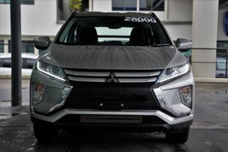 2019 Mitsubishi Eclipse Cross YA MY19 ES 2WD Sterling Silver 8 Speed Constant Variable Wagon.