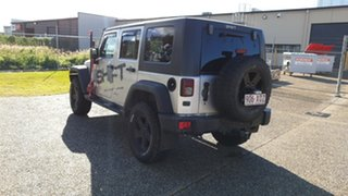 2010 Jeep Wrangler Unlimited JK MY09 Sport (4x4) Silver 4 Speed Automatic Softtop